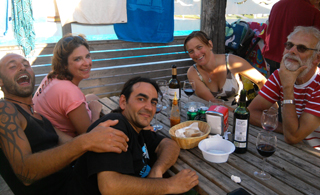 friends at Deva campsite